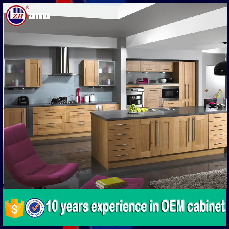 Kitchen Cabinet Set: 2015 New Whole Kitchen Cabinet Set In Wooden Color