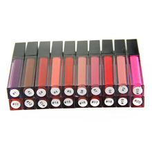 Private Label Matte Lipstik Tidak Ada Label Matte Lip <span class=keywords><strong>Gloss</strong></span> Tahan Air