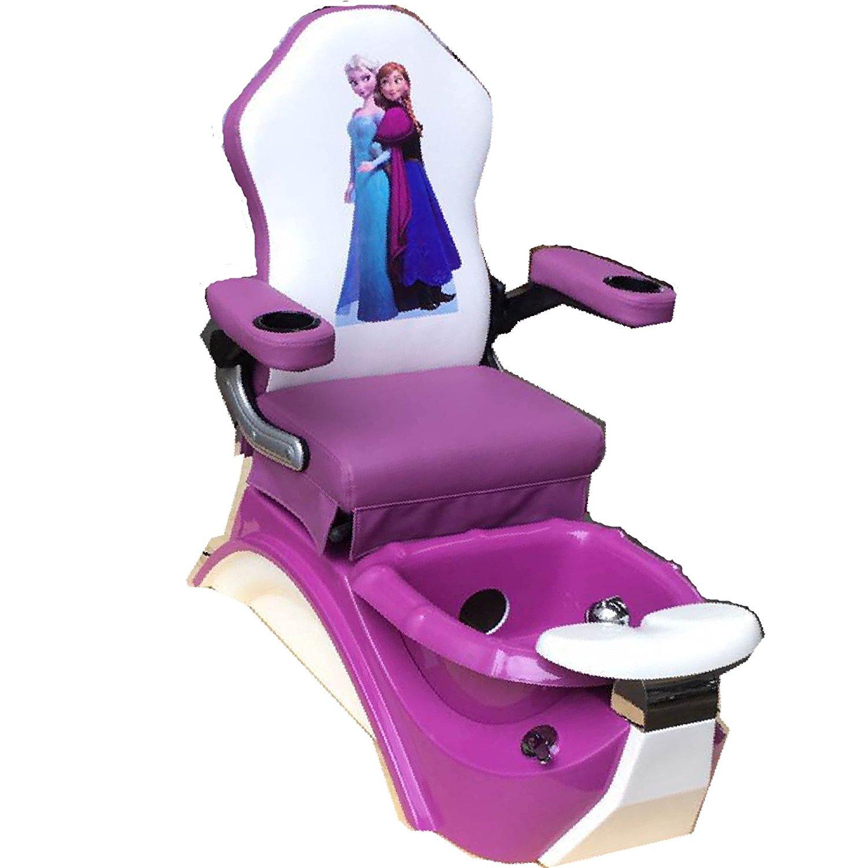 kid salon chairs. Get Quotations · Kids Pedicure Chair FROZEN Purple Spa Nail Salon Furniture Kid Chairs