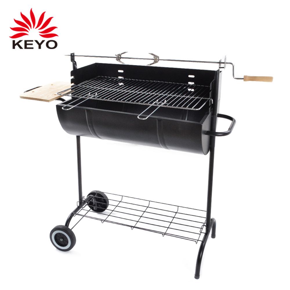 Outdoor Cyorus Rotisserie Barbecue Grill Cyprus Vat Vormige