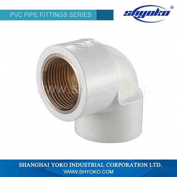 Plumbing Fitting,Thread Fitting,PVC Male Female Threaded Elbow