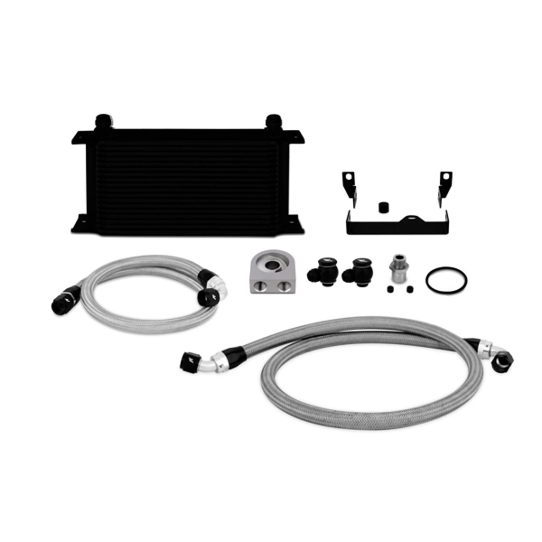 Mishimoto MMOC-WRX-06BK Black Oil Cooler Kit for Subaru Impreza WRX/WRX STI