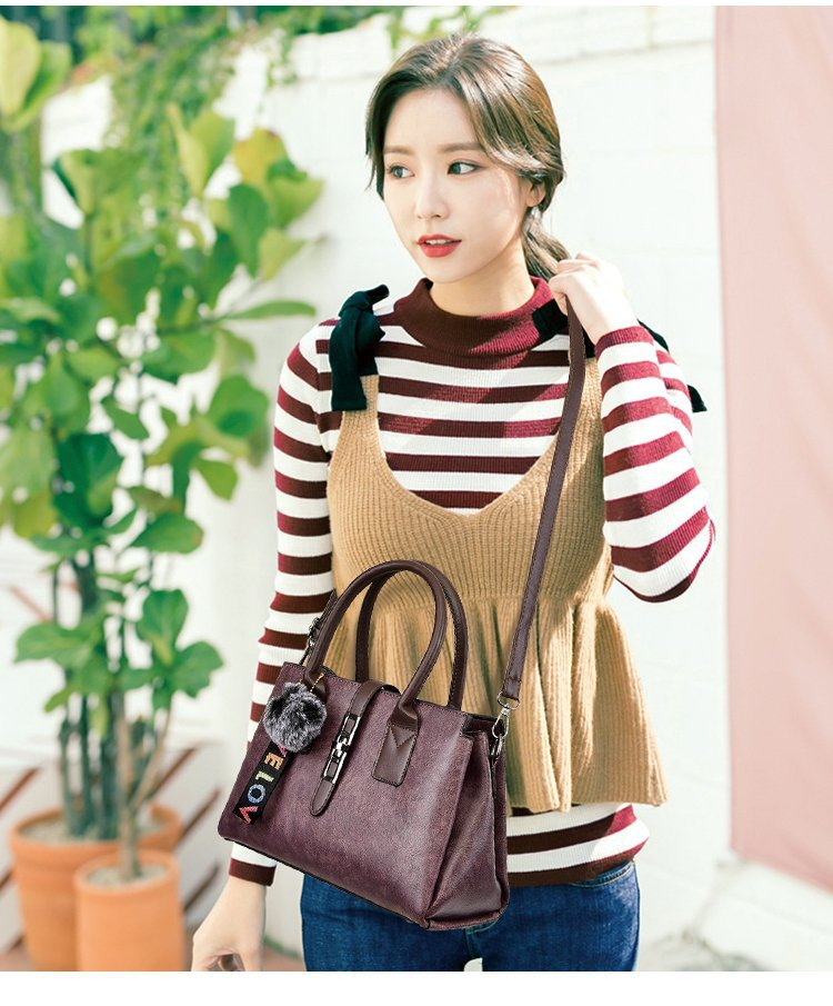 Promotion 3 Sets High Quality Leather Women Handbags Luxury Brands Tote Bag+Ladies Shoulder Messenger crossbody bag+Clutch HB01