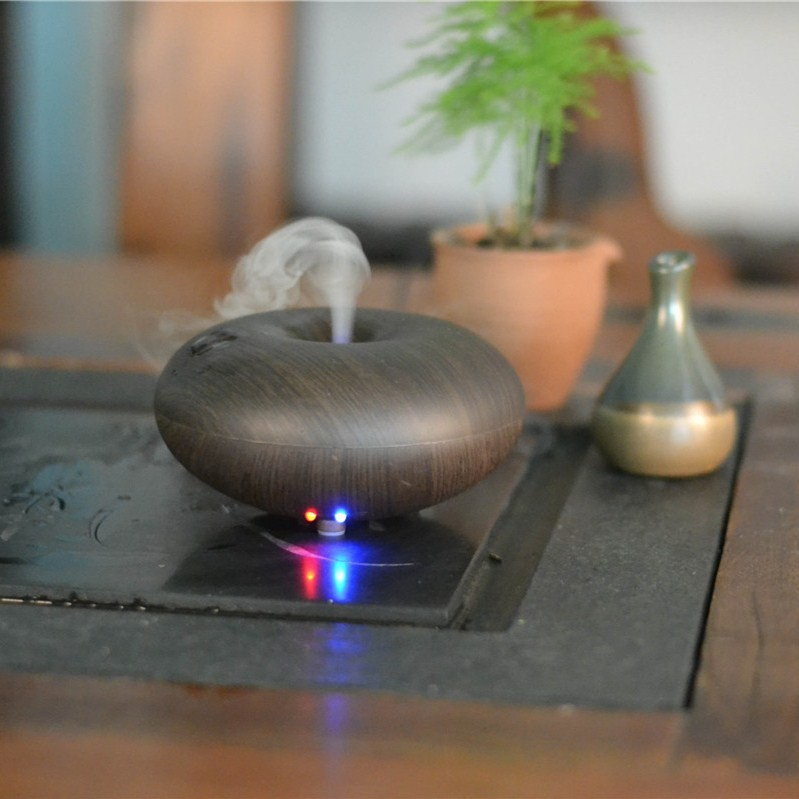 GX-03K bamboo essential oil diffuser, bamboo oil diffuser