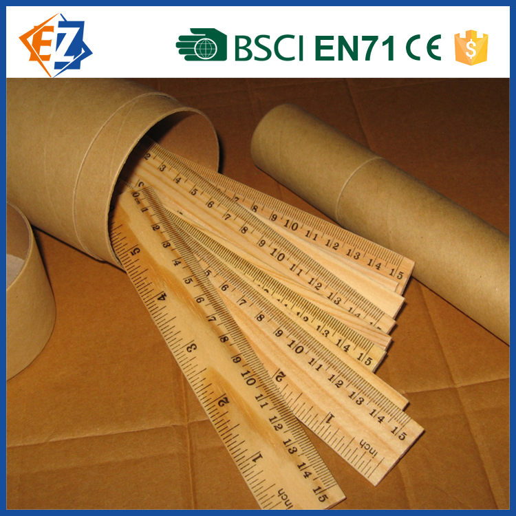 Environmental and Cheap Wooden Long Ruler for Office and Students