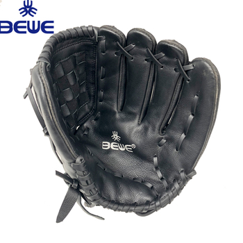 5ca7a6d4395c6 custom design OEM logo exported to USA genuine leather durable pro cowhide  professional baseball glove