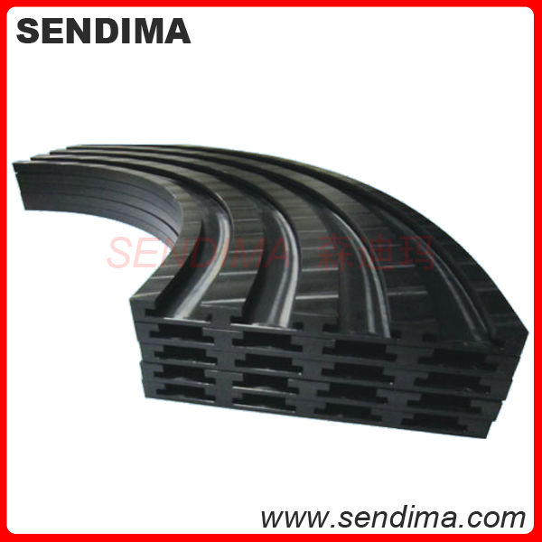 wear resistance self lubricating conveyor UHMW PE 1000 polyethylene elevator guide rail, plastic guide rail
