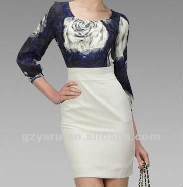 Vestido formal para invierno