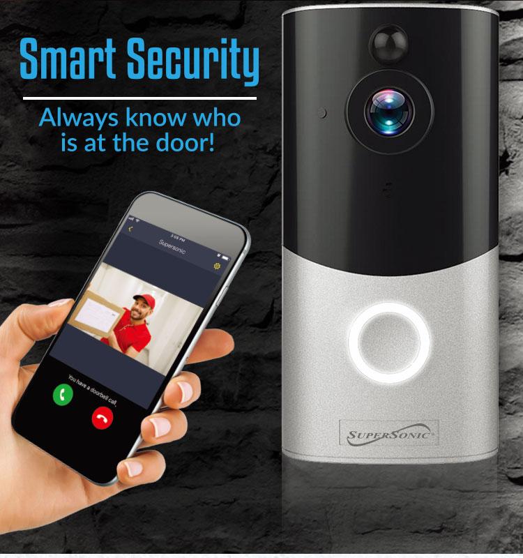 OEM fabrika akıllı ev kamera 1080 P WiFi video kablosuz akıllı kapı zili