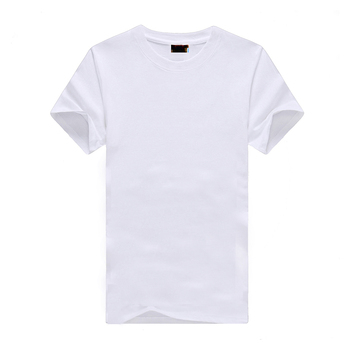 100% Cotton oem logo custom printing plain blank election campaign white t shirt