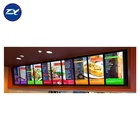 32 Inch Android Indoor Wall Mounted Or Hanging Lcd Display Solution Digital Menu Board For Restaurant