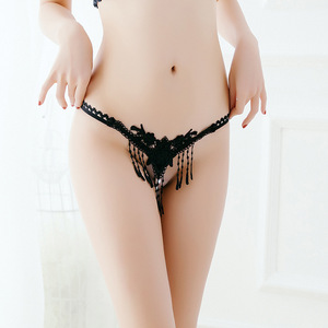 Sexy angels womens open crotch underwear thongs lace G-Strings sexy panties