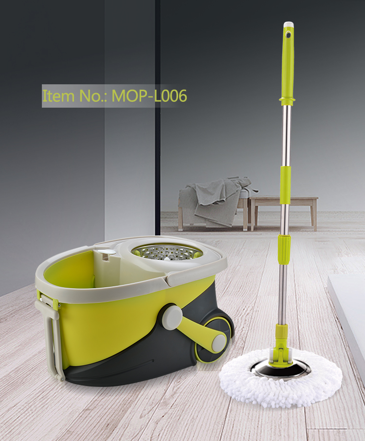 2020 Hot sale Floor Cleaning Mop with Brush and microfiber cleaning pads for online shopping