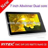 Hot sale dual core wifi tablet mid 7 inch umpc 2014