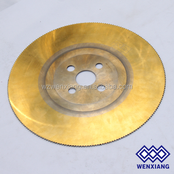 Heat Restance Steel stainless steel tube cutting hss circular saw blade