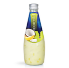 290ml glass bottle Dairy Free Fresh Banana flavored Coconut Milk Drink