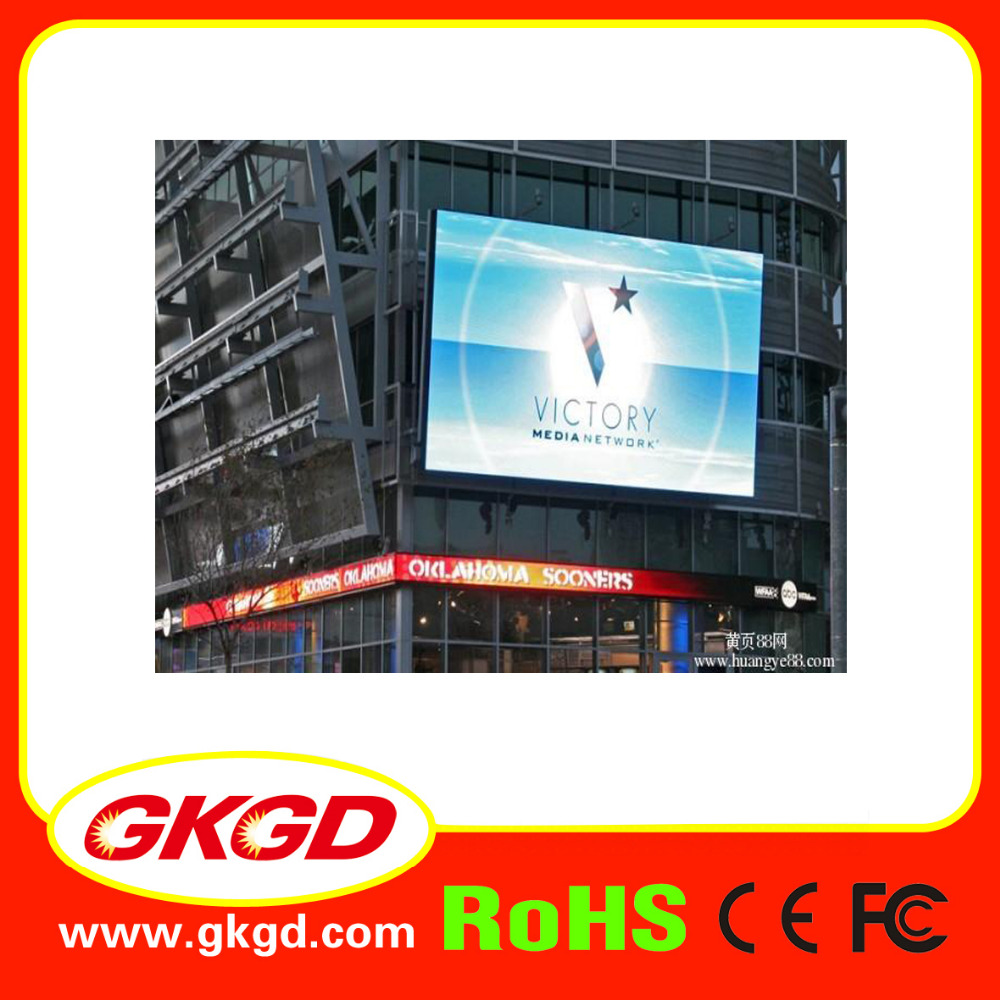 GKGD LED Screen Video P5/P6/P8/P10 Outdoor LED Display Advertising