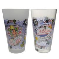 Hot selling 16oz pint drinking glass with printing beer glass