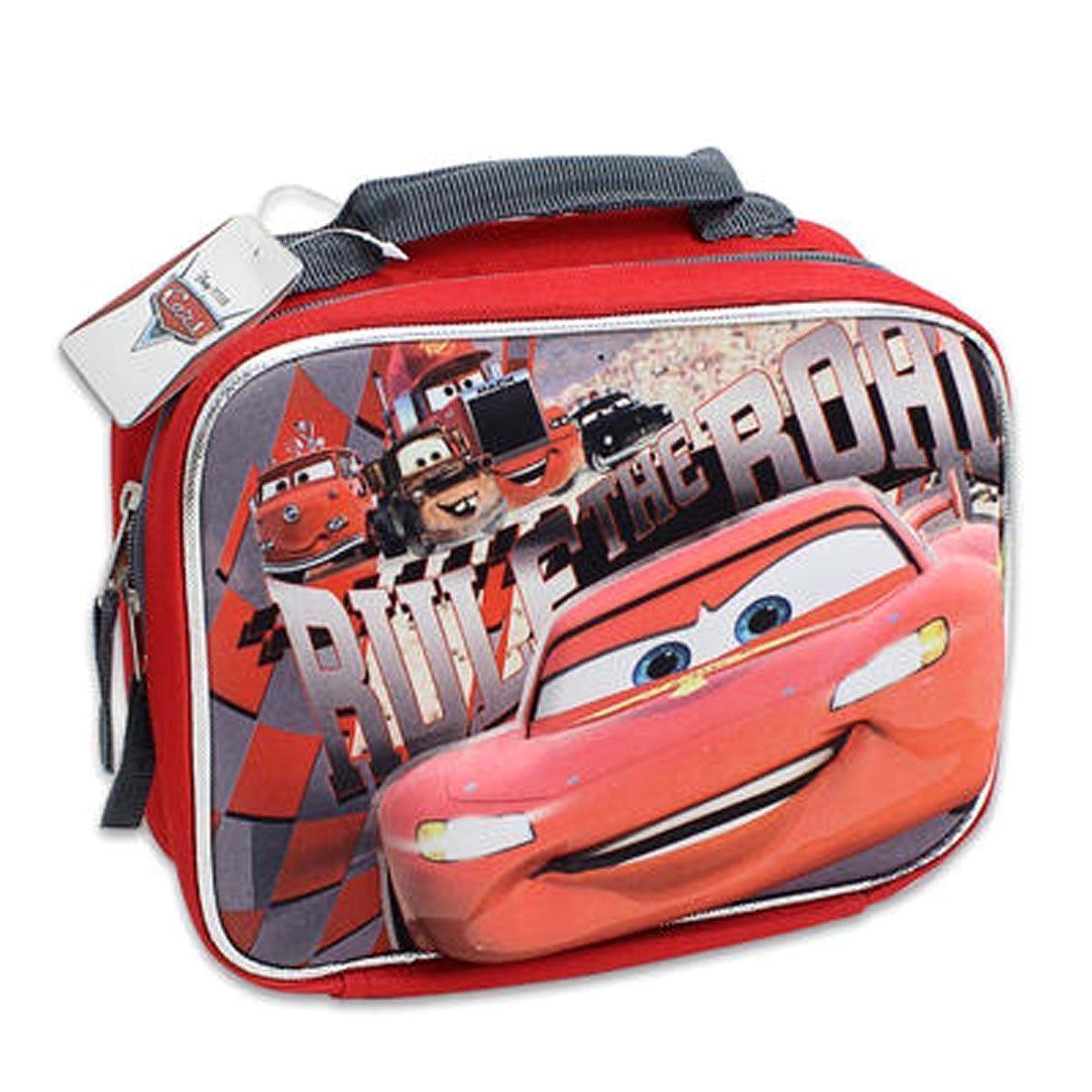 b04befc5a3f2 New Disney Cars Kids Boys Insulated School Lunch Bag Mcqueen 3d Pop up  Design