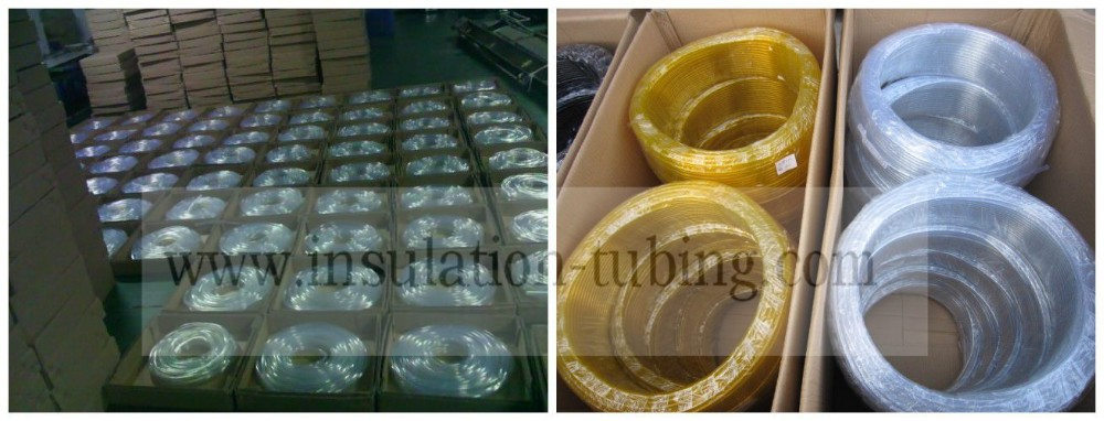 Food Grade Flexible Bulk Customized Two Lines Plastic PVC Pipe