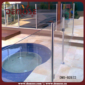 Invisible Tempered Glass Pool Fence Fencing Panels Clip Buy Invisible Pool Fencing Tempered