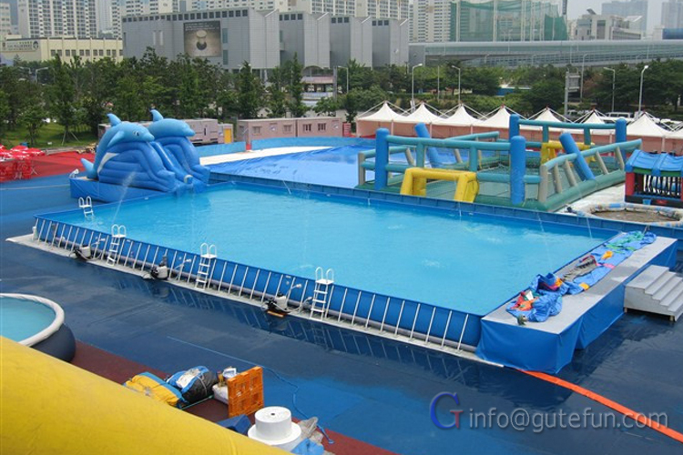 Mobile Swimming Pool Equipment China