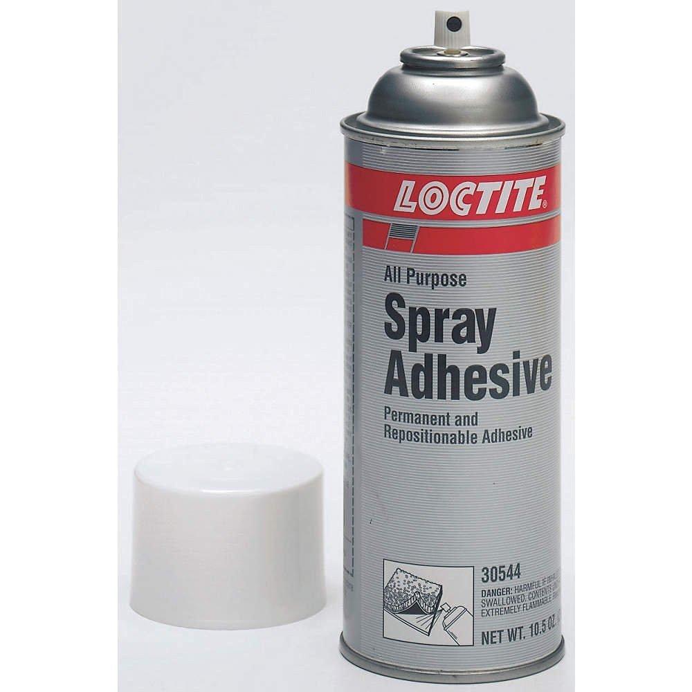 Spray Adhesive, All-Purpose, Clr, 10.5 oz.