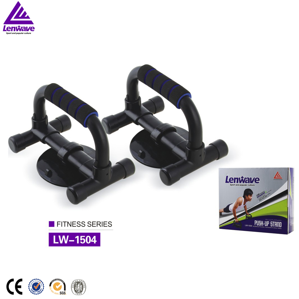 Top quality wholesale sponge handle Push-ups shelf home GYM Convenient and durable biservice push-up stand