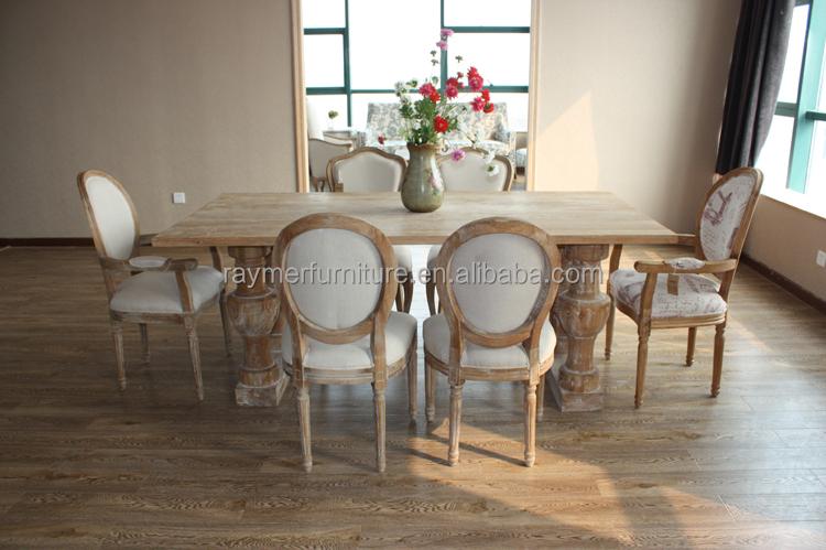 Antichi Mobili Sala Da Pranzo In Legno Massello Di Rovere Tavoli Da ...