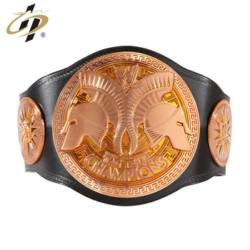2018 High quality  tag team Championship metal studded belt