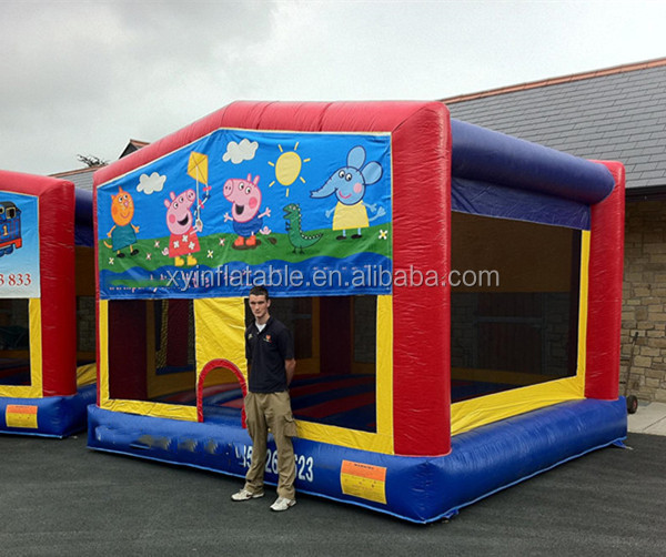 catoon animal pig inflatable Bouncy bounce