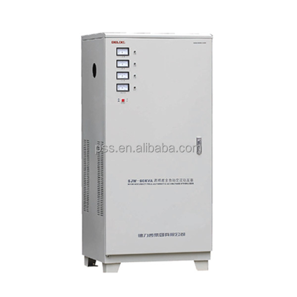 AC Automatic High Precision 30KVA 3 Phase Voltage Regulator Stabilizer 380V