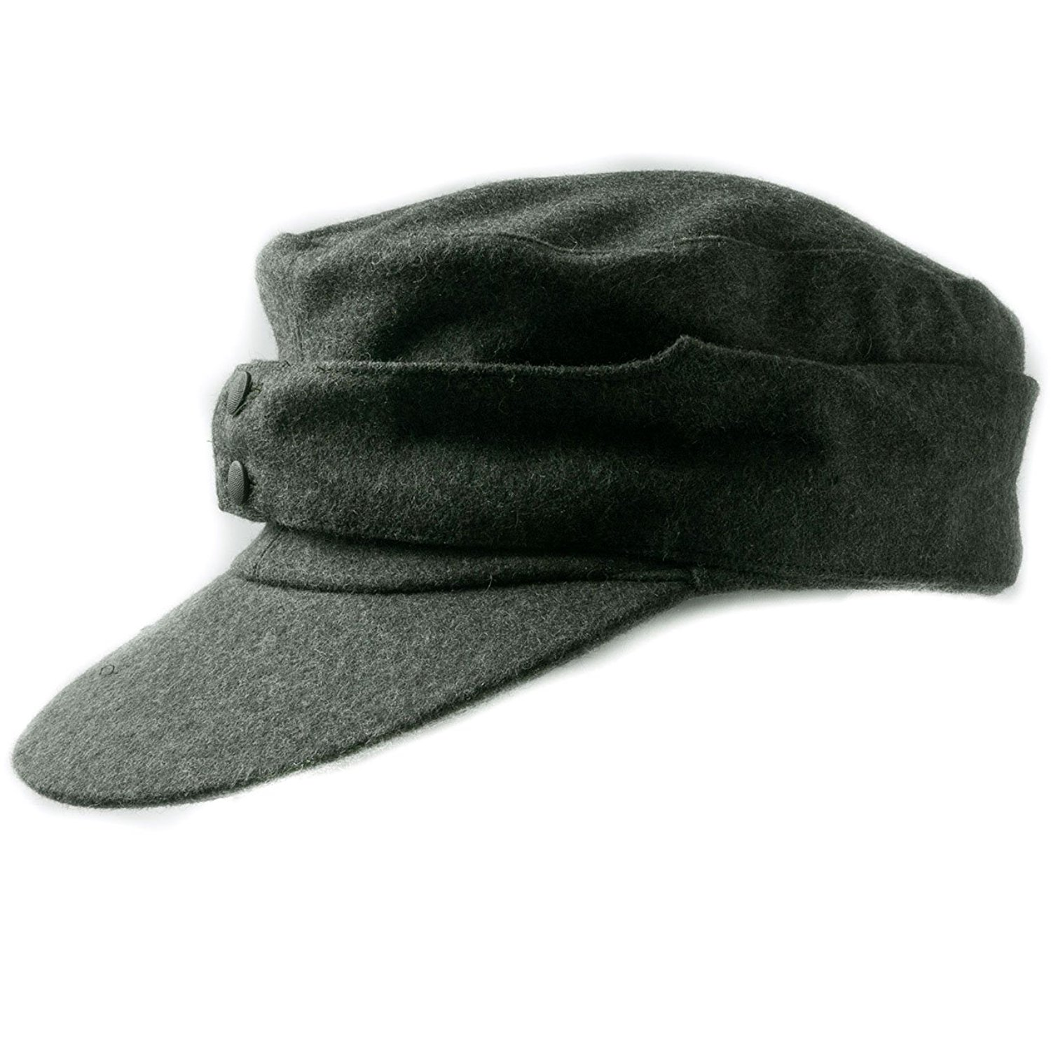 5282f6e1064353 Get Quotations · Heerpoint Reproducation WWII German WH EM M43 Panzer Wool  Field Cap