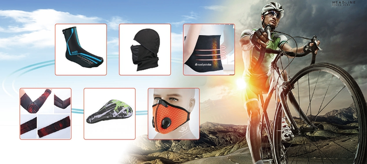 Light ventilate cycling reusable ski face mask with two valves anti-smog respirator