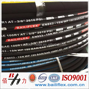 professional winding rubber fuel hydraulic hose for agricultural machinery