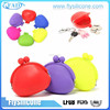 HOT Wholesale Custom Cute Waterproof Durable Flexible Silicone Coin Bag