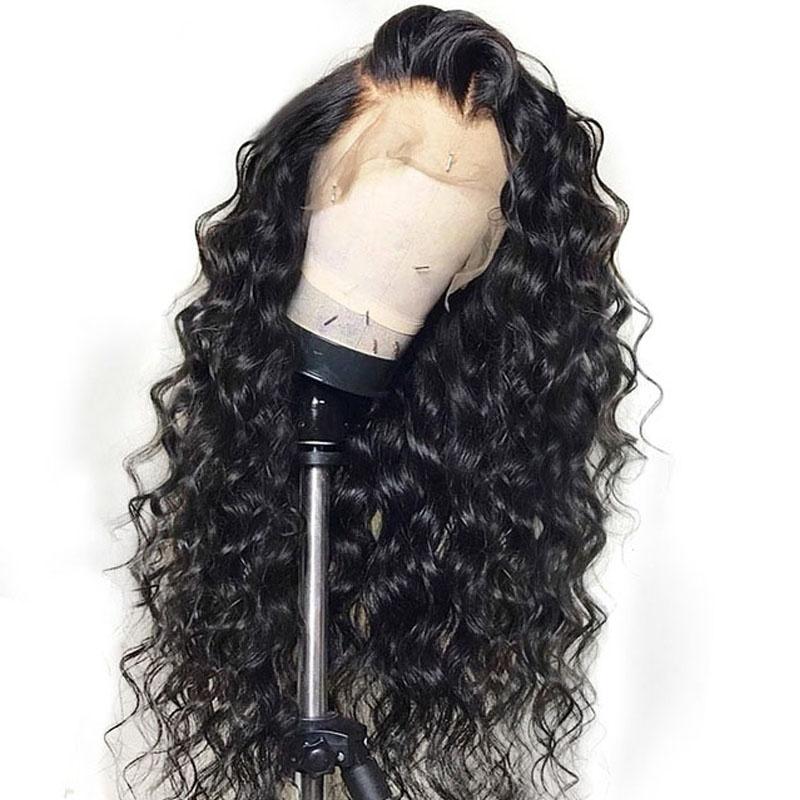 Alibaba.com / Beauty virgin loose wave brazilian human hair full lace wig