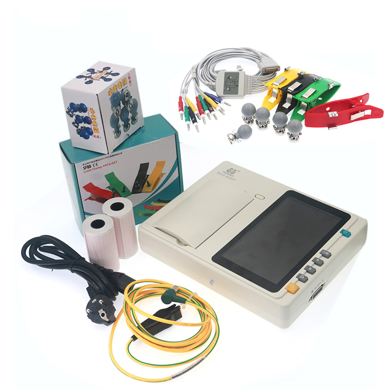 YKD ECG-3030P High-resolution 3-Channel  Digital Electrocardiograph / ECG Machine