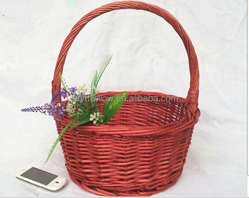 Empty Easter Egg Basket