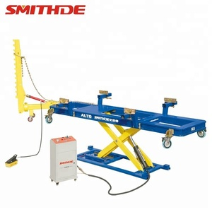 Smithde K6 car o liner style frame machine 3.5t/used Auto Body Equipment