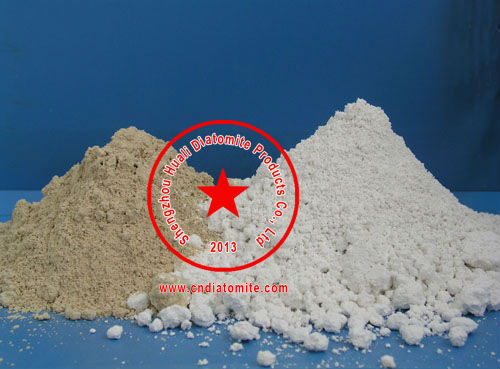 diatomite filter aid for waste water treatment