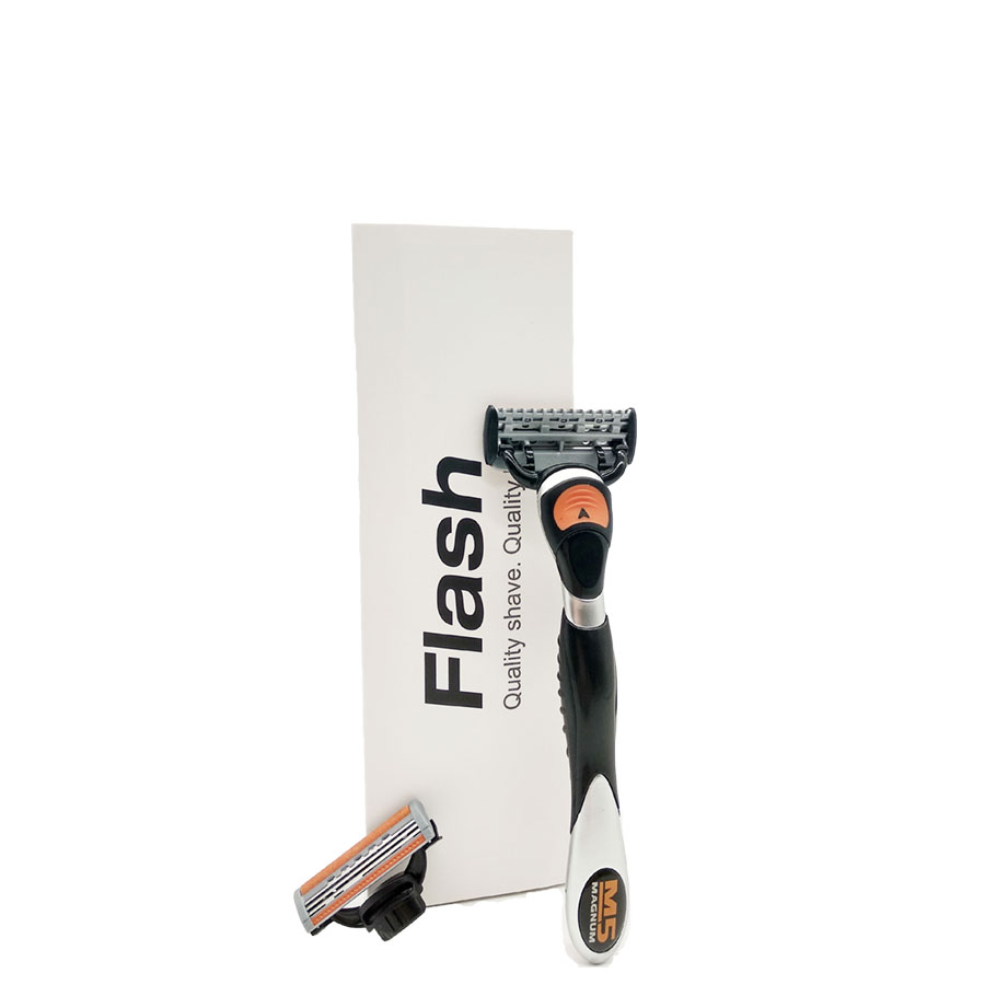 USA Imported High Quality 3 and 5 Blade System Men Shaving Kit Private Label Razor фото