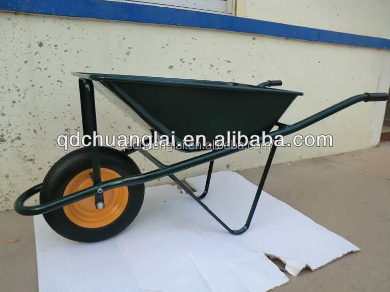 Metal Wheelbarrow Tire and Tube for Construction