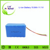 3s6p 18650 rechargeable 12 v lithium ion battery 15.6Ah