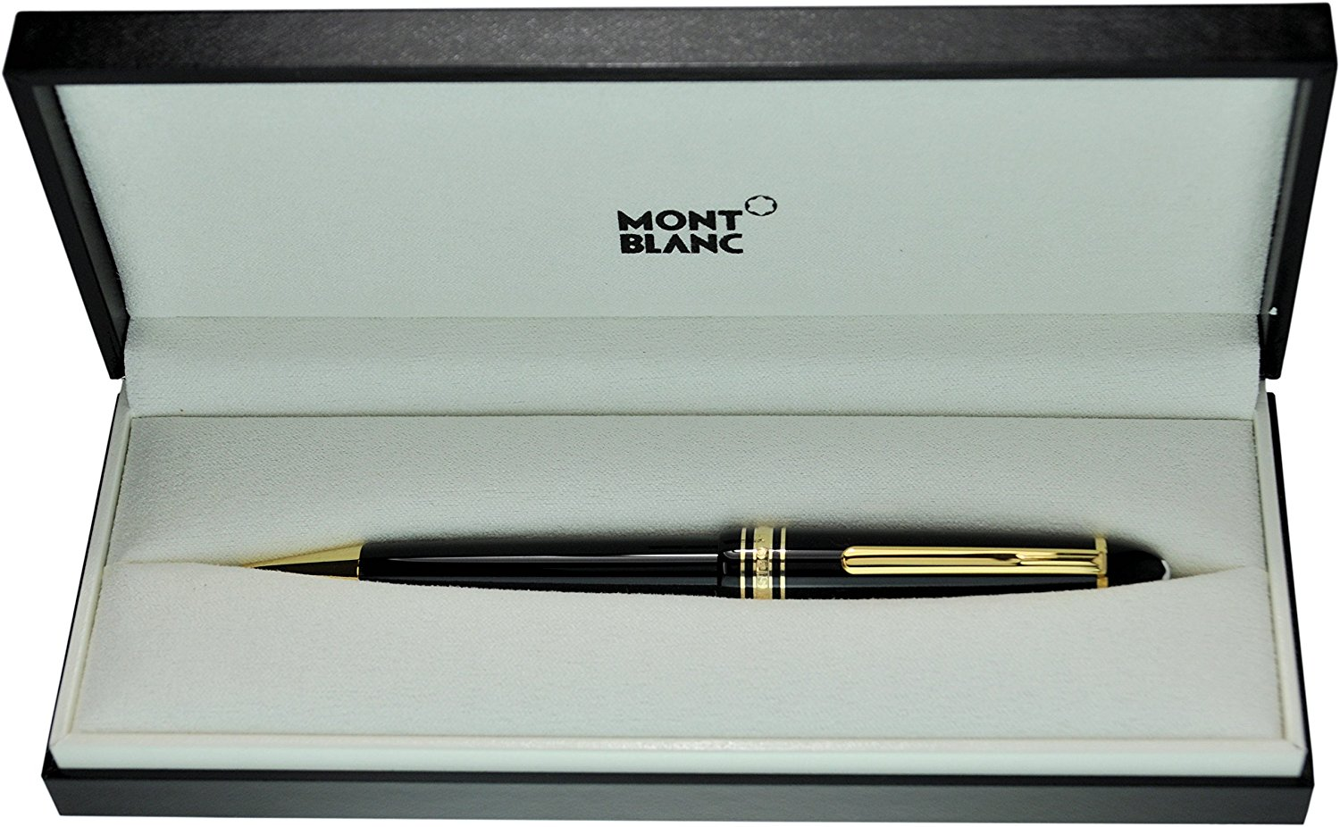 Montblanc Meisterstuck Le Grand 161 Gold & Black Ballpoint Pen - Mint Only One Good Quality Luxury Pen Best Gift