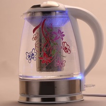 Unique MSF New Hand-Decal Ceramic Electric Kettle