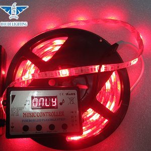 Good price infrared led strip, 5m 300leds waterproof smd 3528 led strip  light, rgb led strip music control