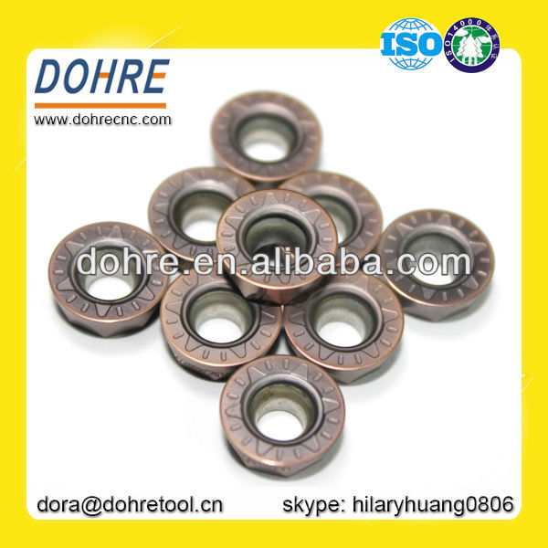 DOHRE Common Use RPMT RPMW Round CNC Carbide Milling Inserts