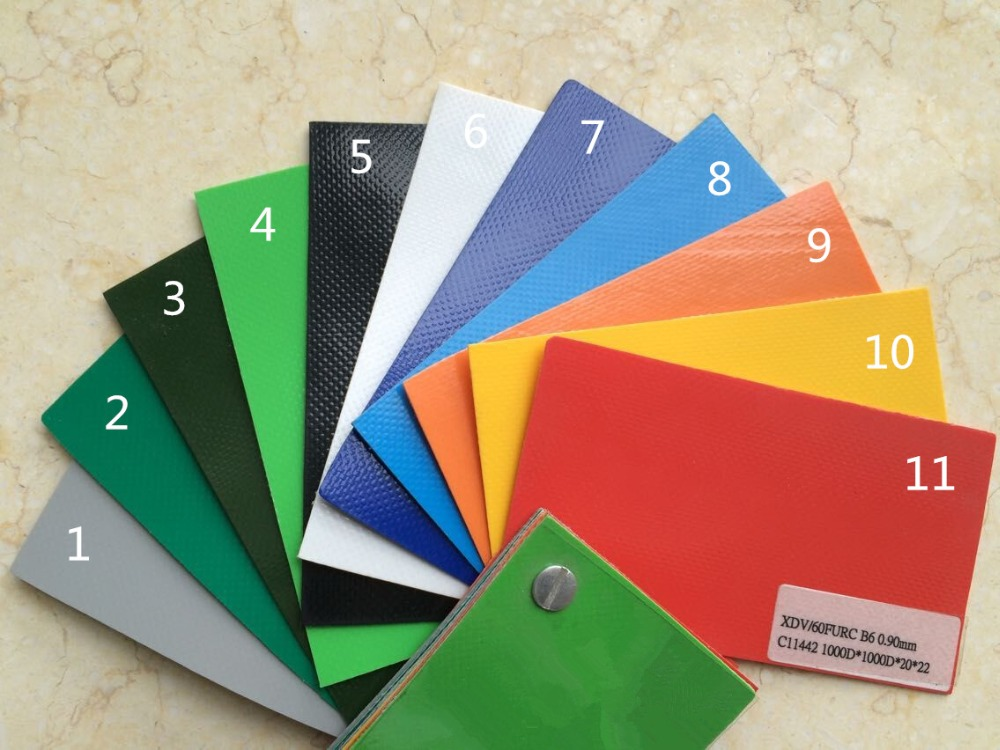 0.90mm PVC tarpaulin color