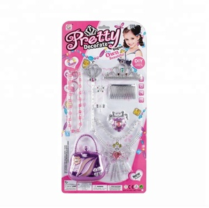 Fashion Design Vogue Pretty Decorate Princess Toy DIY Beauty Toy set